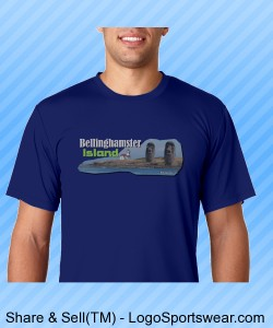 Bellinghamster Island quality Hanes T-Shirt Design Zoom