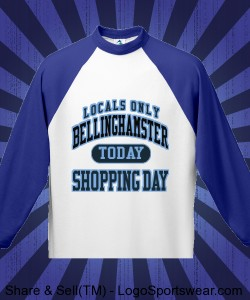 Bellinghamster Fun Shopping Shirt Design Zoom