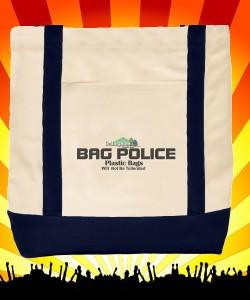 Bag Police Shopping Tote Design Zoom