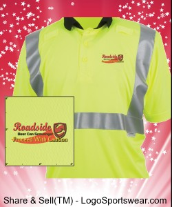 High Visibility Safety Shirt - Roadside Beer Can Scavenger Shirt Design Zoom