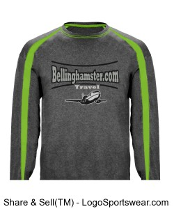 Long Sleeve Bellinghamster.com Travel Shirt Design Zoom