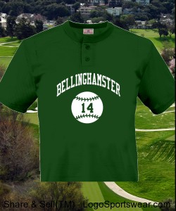 Bellinghamster Team Logo Shirt Performance TEE by Badger Design Zoom