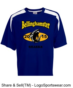 Bellinghamster Sharks Soccer Jersey Shirt Design Zoom